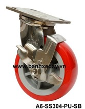 banh-xe-day-cong-nghiep-pu-do-cang-inox-304-khoa-a6-ss304-pu-sb